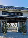 岡崎公園、大手門