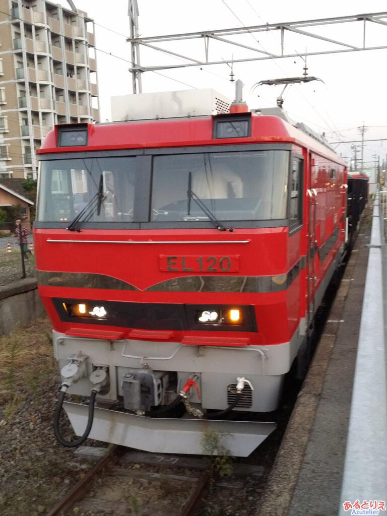 EL120@矢作橋駅