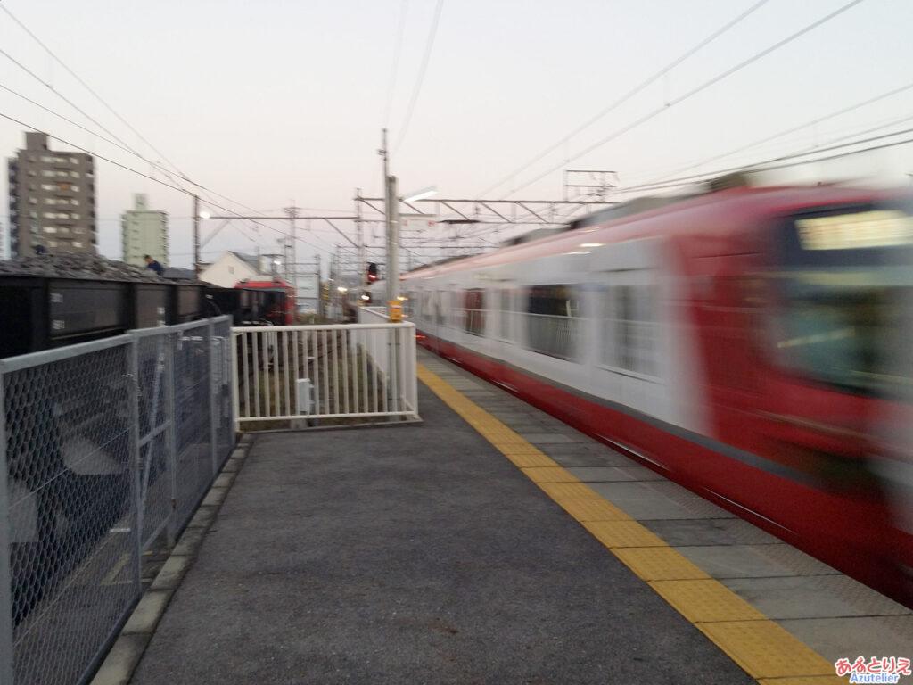 パノラマSuper@矢作橋駅通過