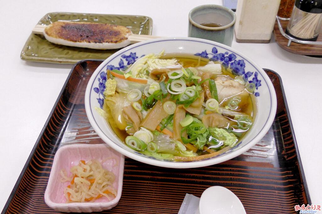 和紙とお食事 紙の花