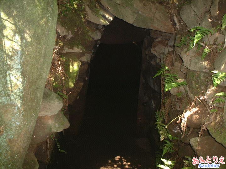 神明宮古墳、内部