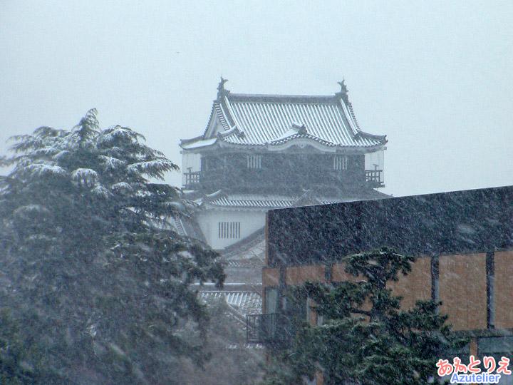 吹雪のお城