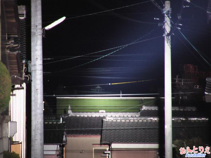 光ビスタライン、大樹寺側
