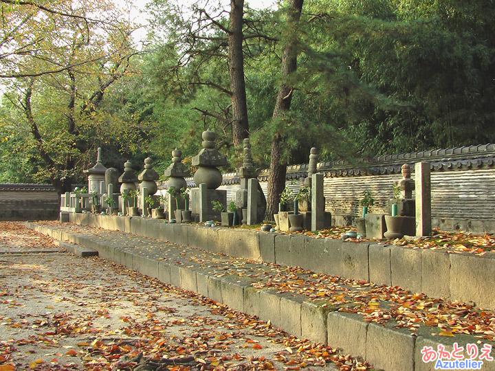 松平八代墓、全景