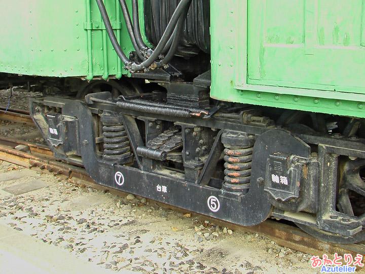 モ401連接台車