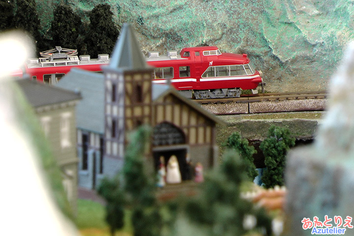鉄道模型走行(南公園秋まつり)