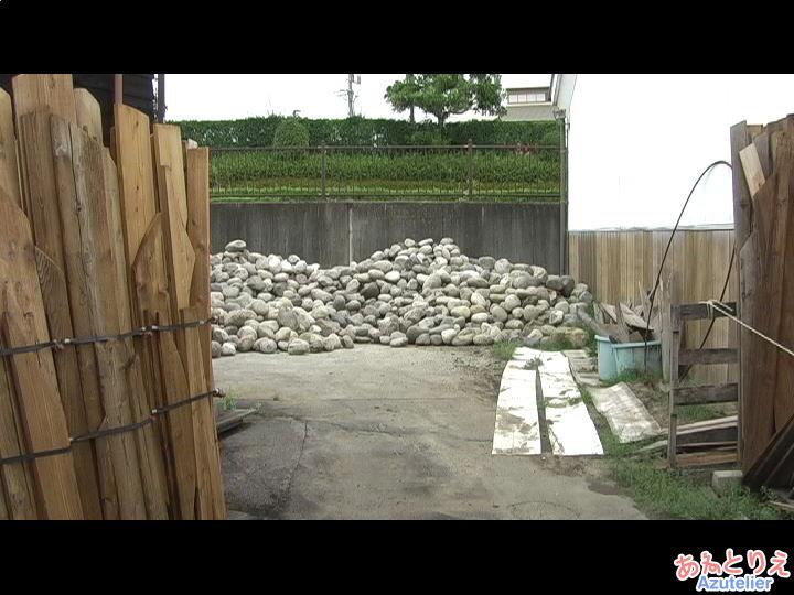 味噌樽の重石