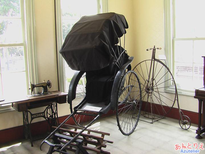人力車(展示室)