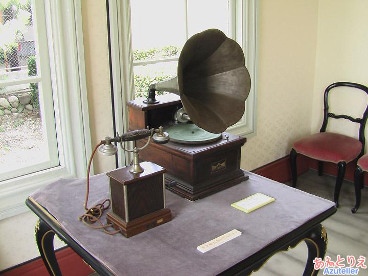 蓄音機(展示室)