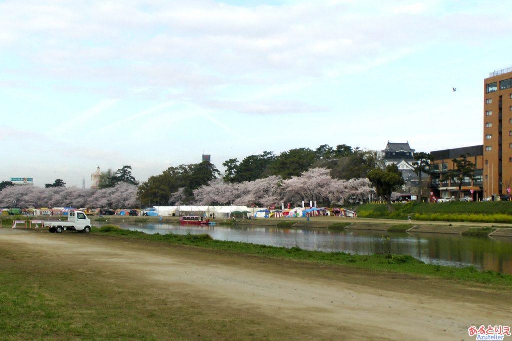 岡崎公園に到着