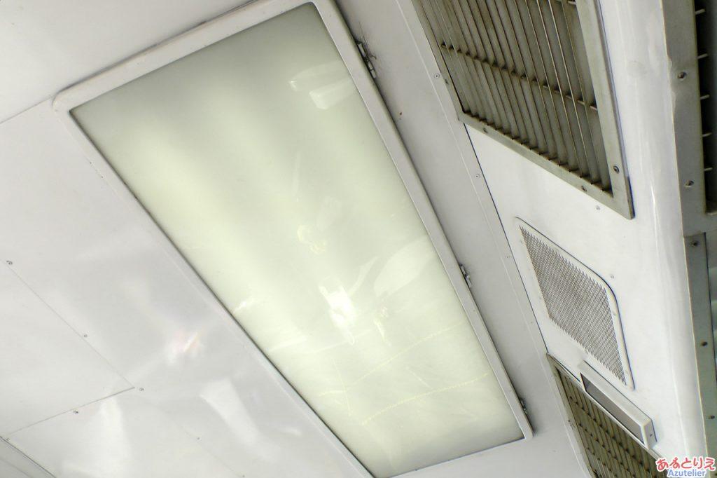 展望室の天井