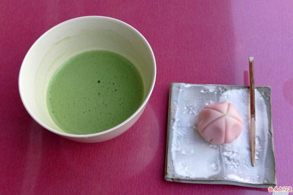 お抹茶セット(450円)