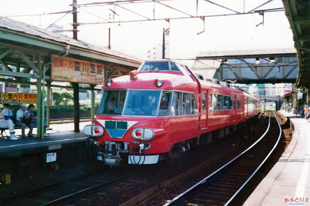 名鉄7000系パノラマカー@金山橋