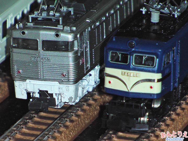 国鉄EF81-300、国鉄EF58