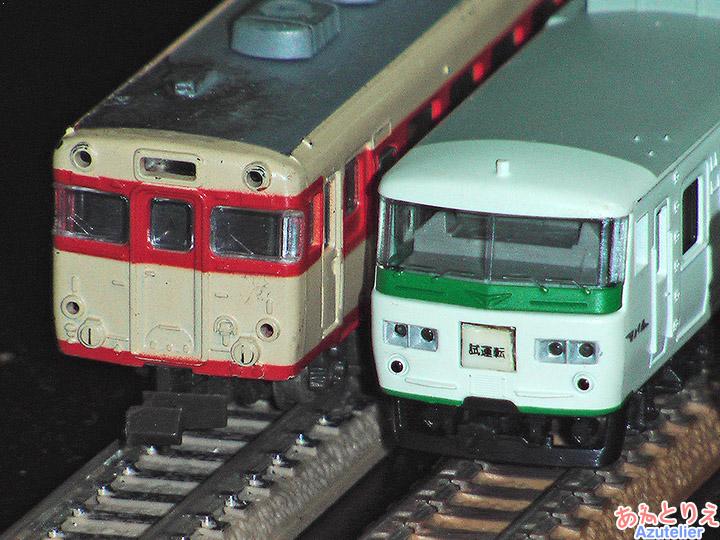 国鉄キハ58、国鉄185系