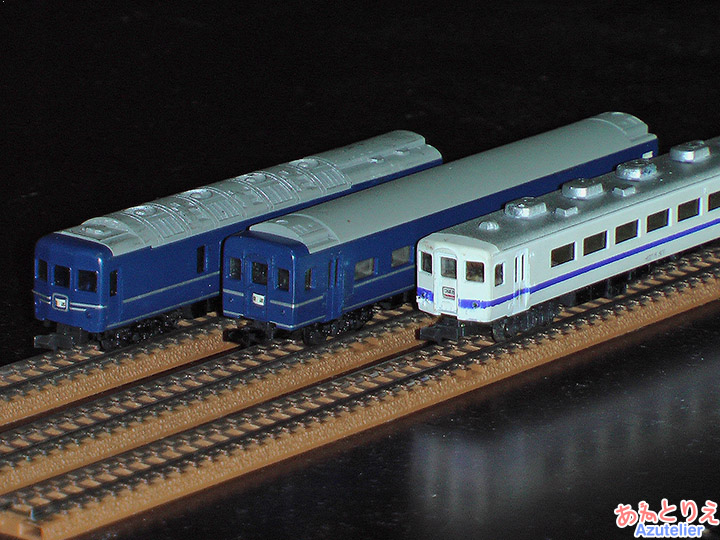 国鉄24系、国鉄14系(オリジナル塗装)
