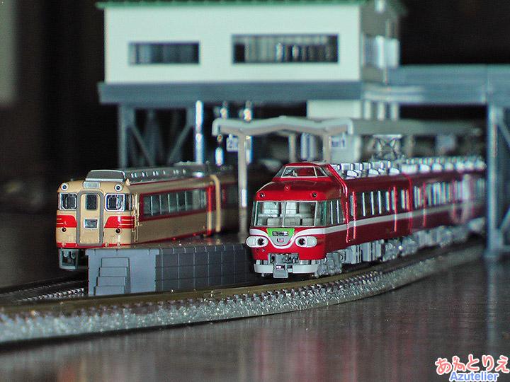 名鉄キハ8000&名鉄7000系