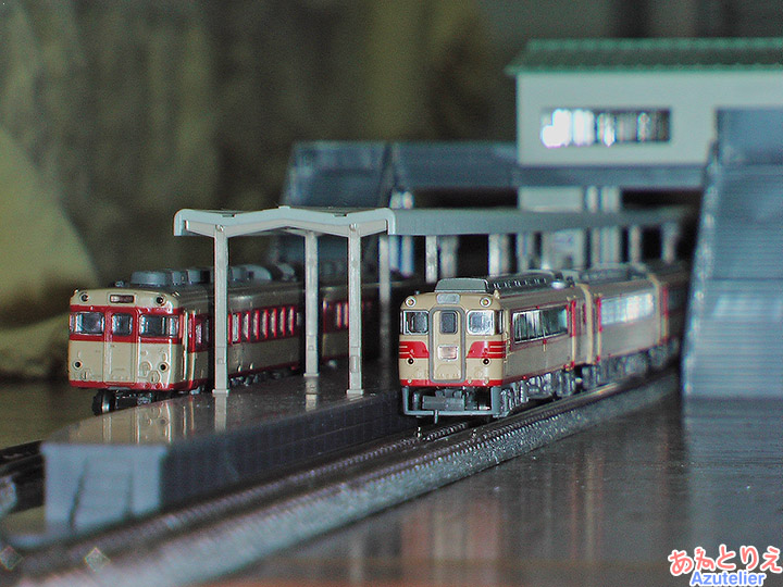 国鉄キハ58&名鉄キハ8000系