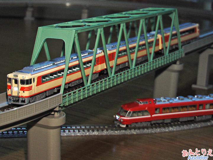 名鉄キハ8000系&名鉄7000系