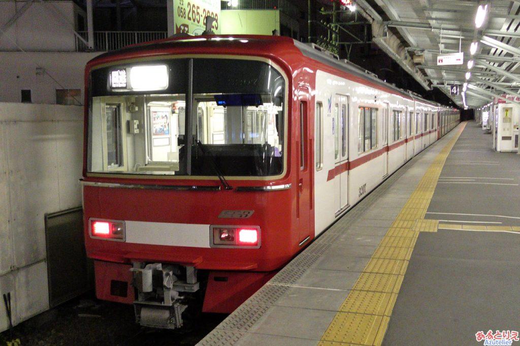 名鉄3100系特急色