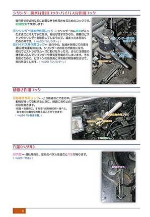 シリンダー排水弁作用コック・バイパス弁作用コック・砂撒き作用コック・汽笛(ペダル)