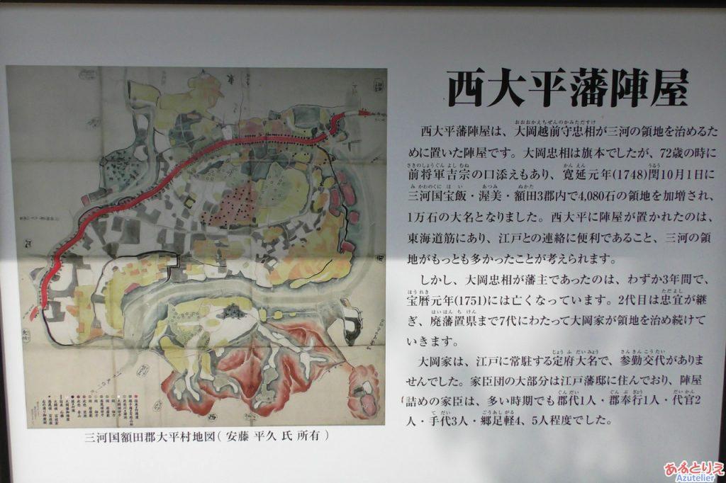 西大平藩陣屋