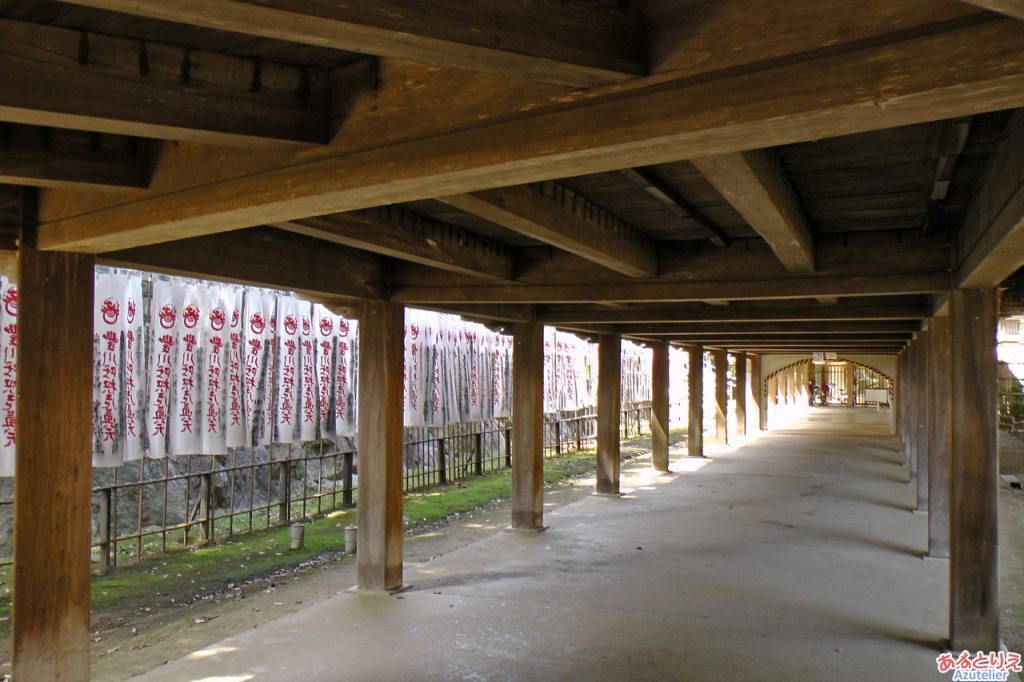 本殿の回廊