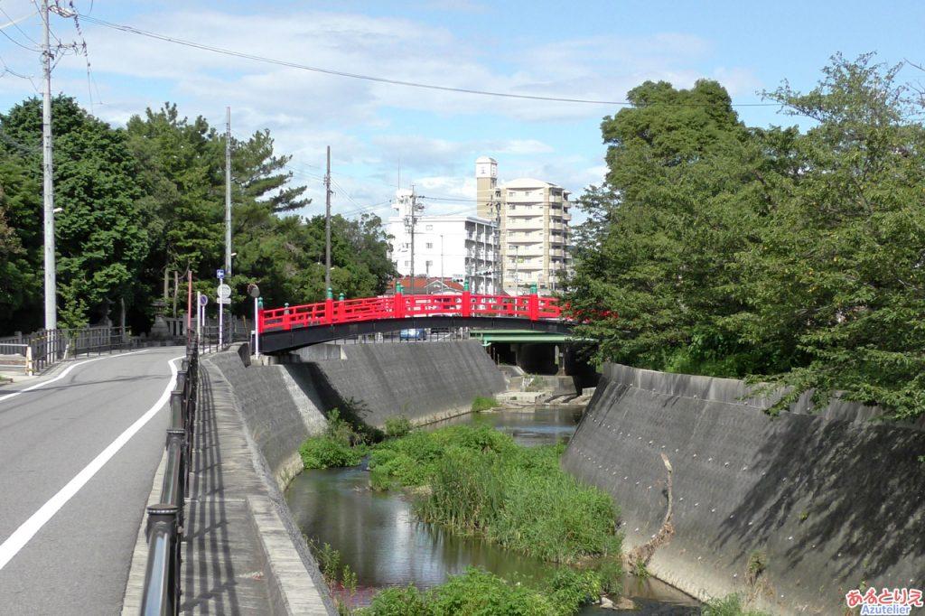 伊賀八幡宮:神橋(伊賀川)