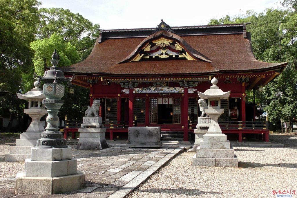 伊賀八幡宮:本殿