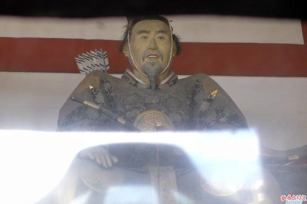 伊賀八幡宮:随神像