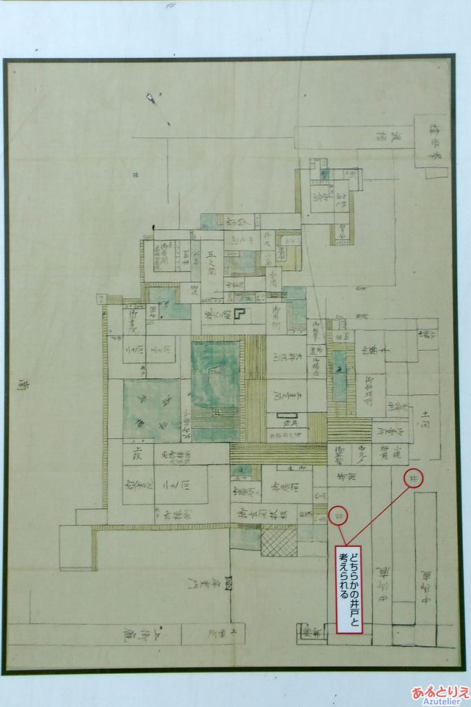 二の丸御殿の絵図