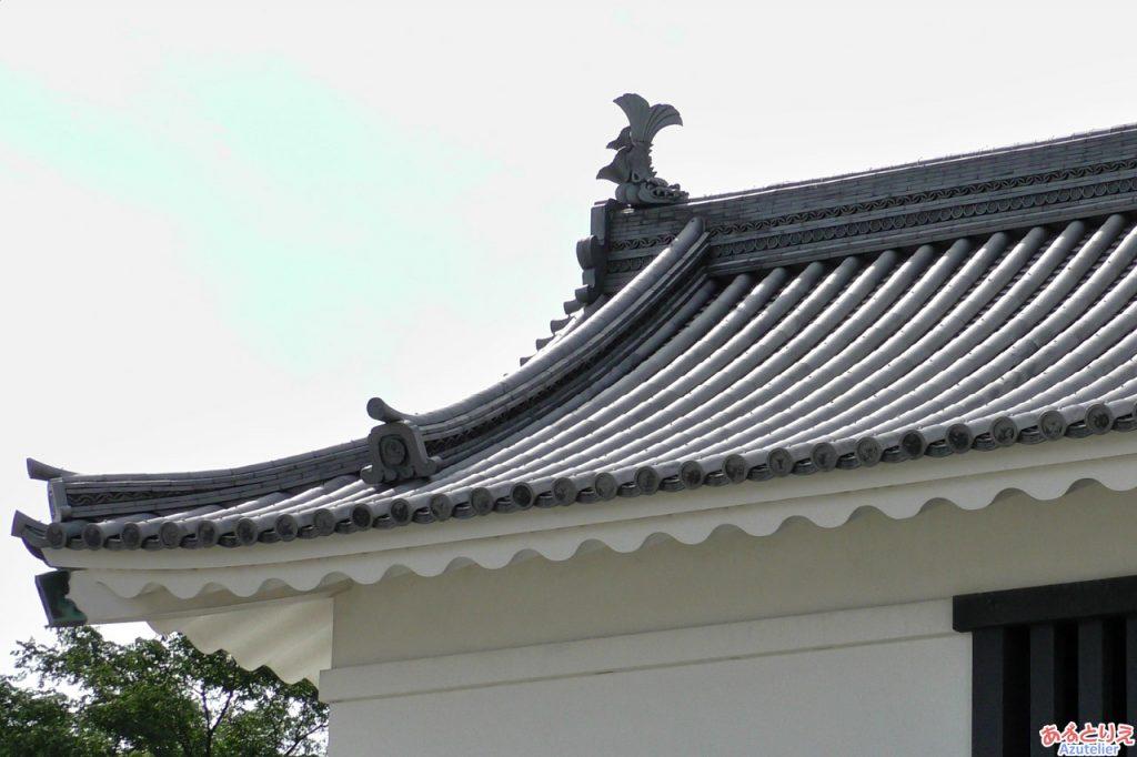 大手門(屋根)