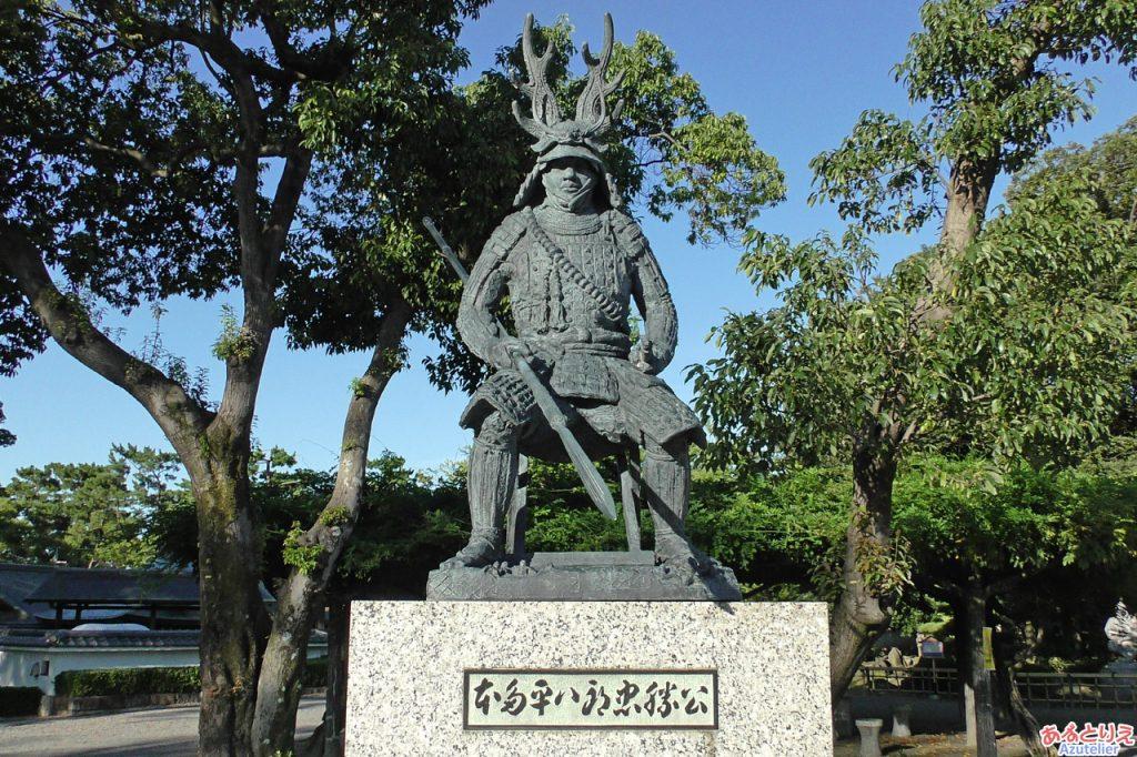 本多平八郎忠勝公銅像
