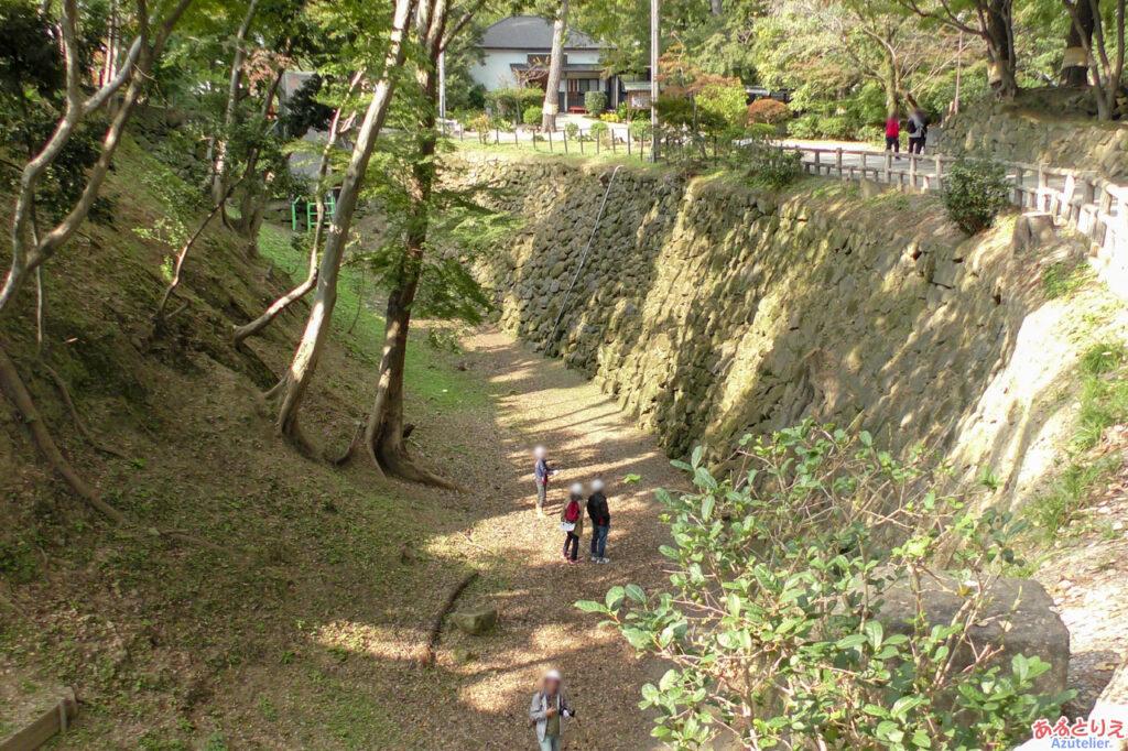 清海堀の探索