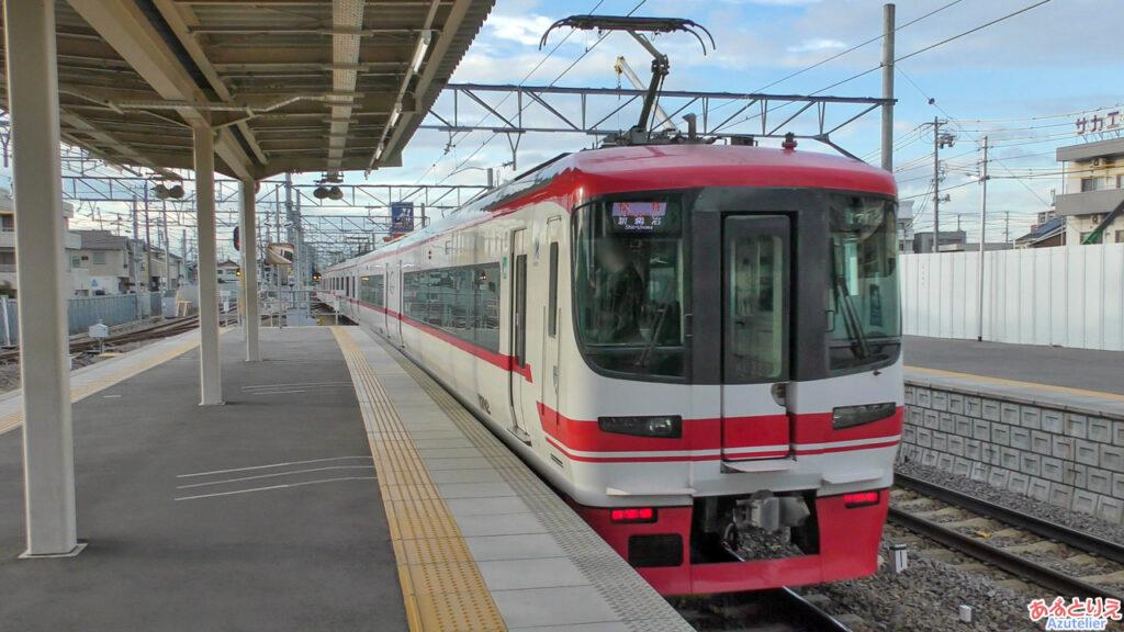 知立駅:実はさっき乗った列車は1700系(2330系)でした。