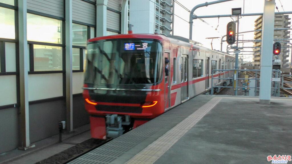 鳴海:実は乗った列車の後ろは9500系!