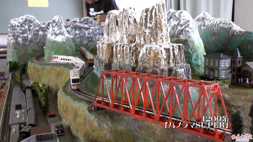 秋の南公園まつり2014年-鉄道模型走行展示-(再生時間02:11)