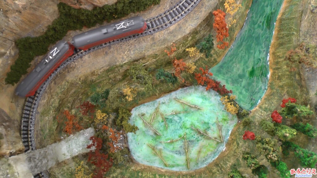 秋の南公園まつり鉄道模型走行展示2013(再生時間01:30)