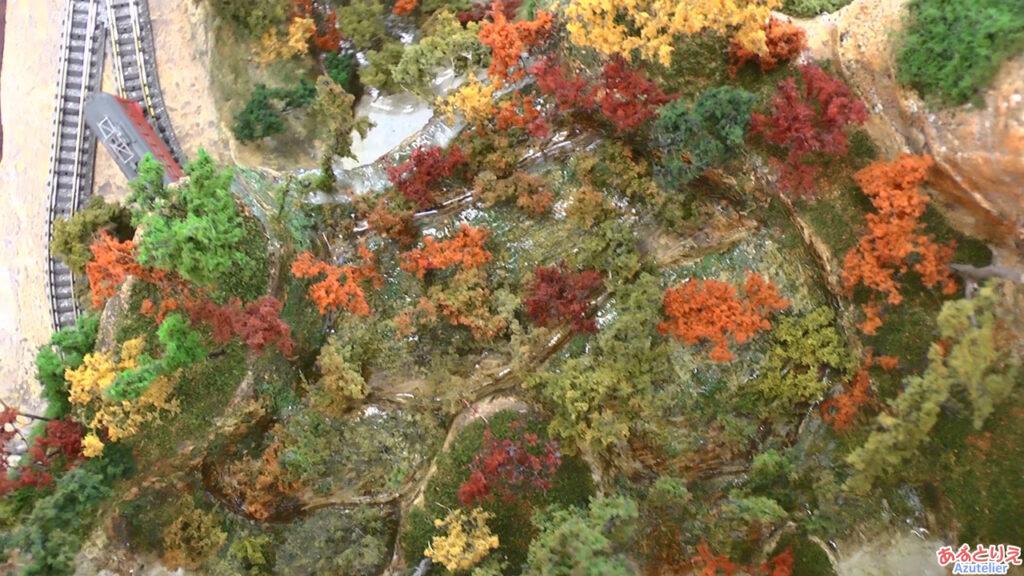 秋の南公園まつり鉄道模型走行展示2013(再生時間00:25)