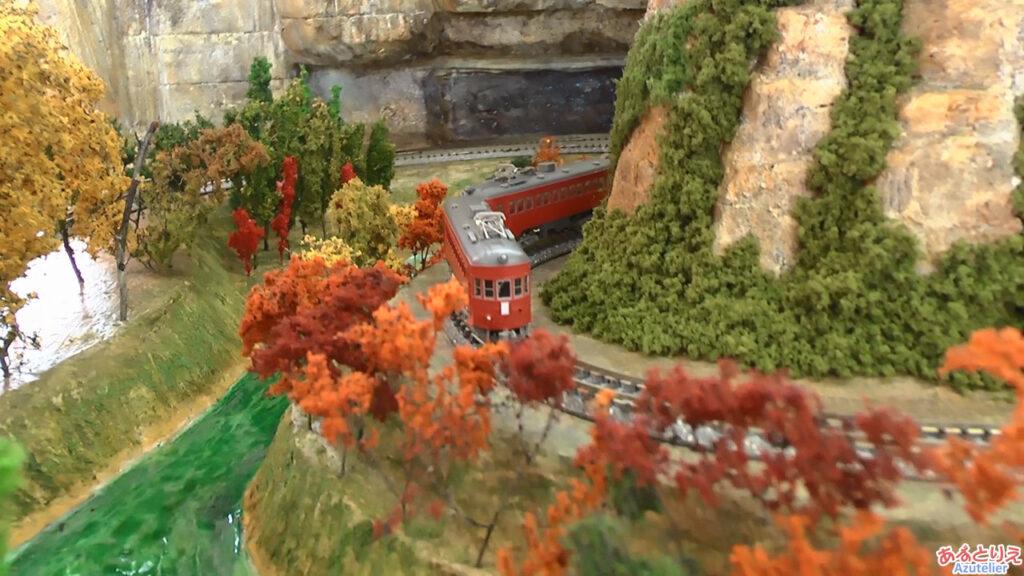 秋の南公園まつり鉄道模型走行展示2013(再生時間00:51)