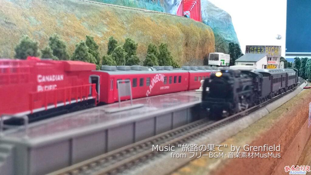 秋の南公園まつり鉄道模型走行展示2013(再生時間02:32)