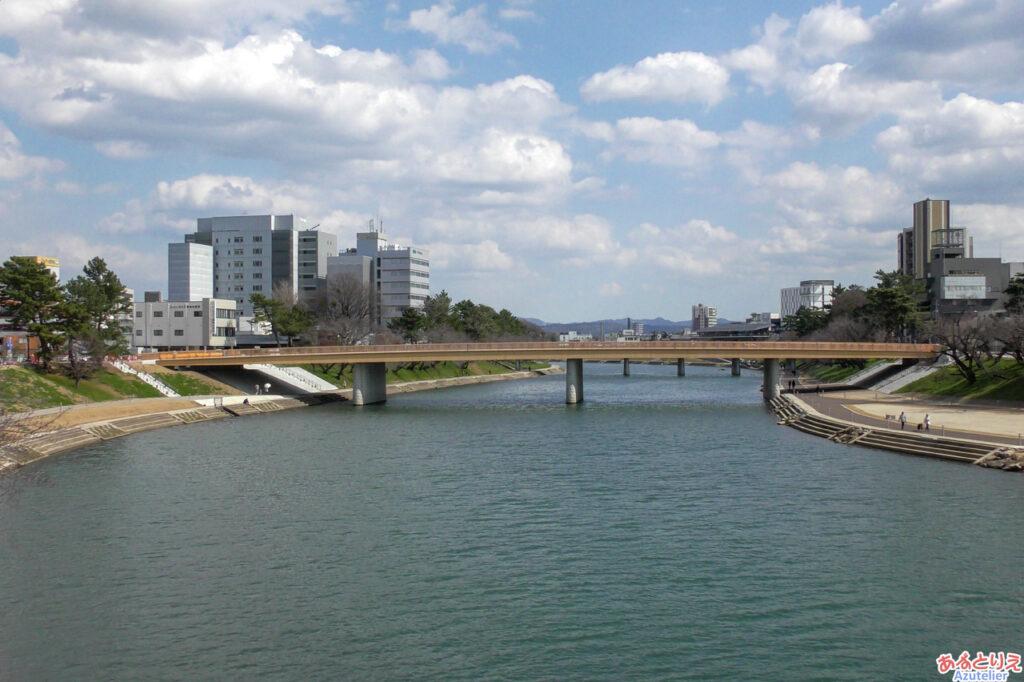 桜城橋(殿橋から)
